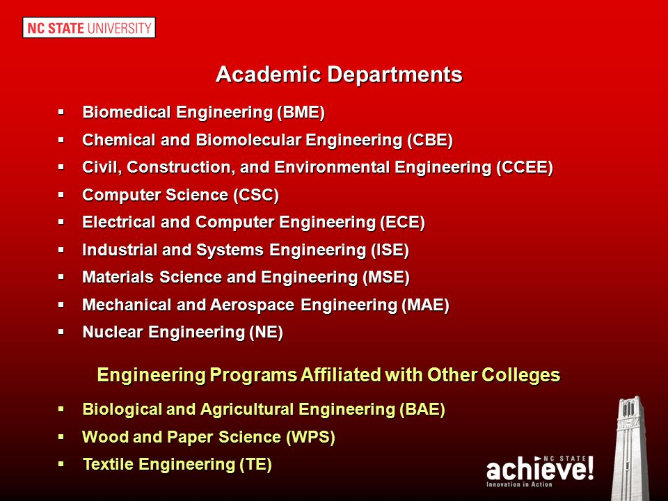 Engineering Programs Affiliated with Other Colleges
