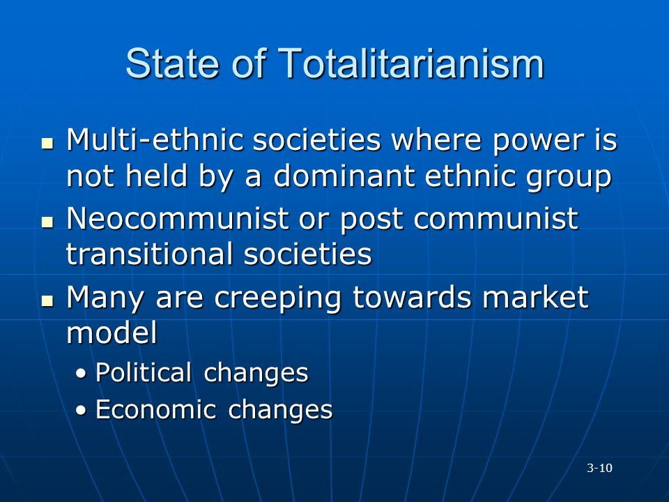 State of Totalitarianism