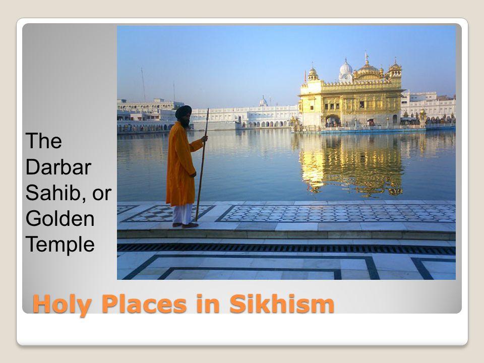 The Darbar Sahib, or Golden Temple