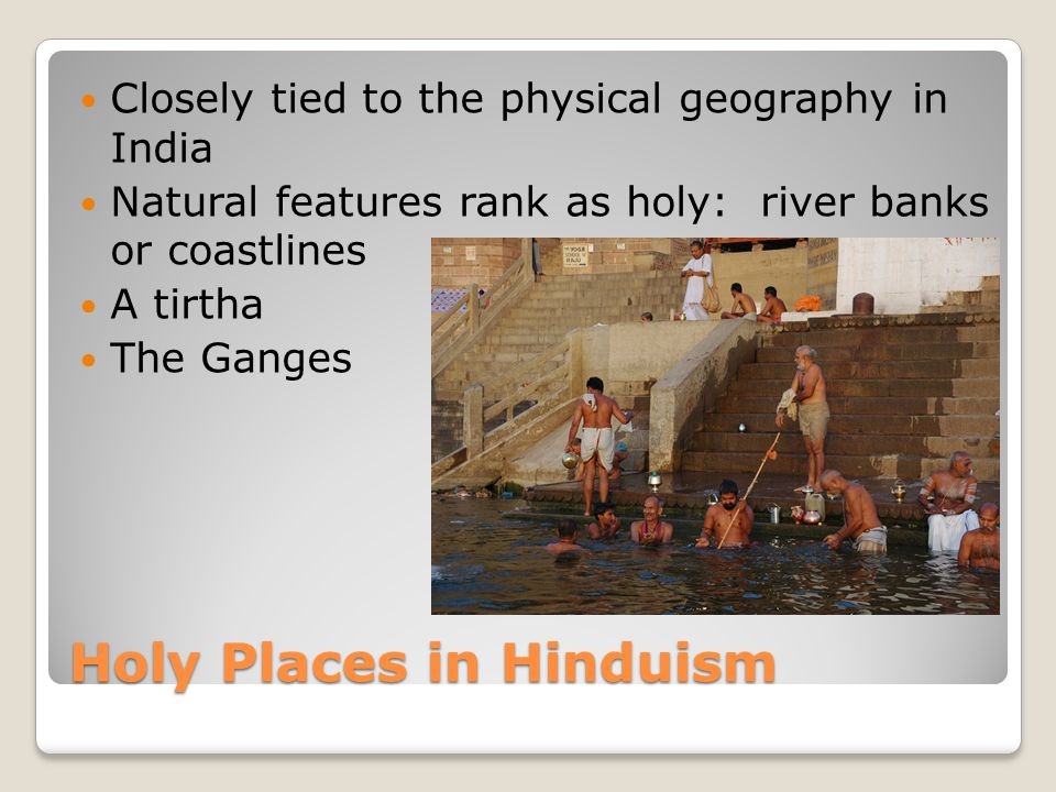 Holy Places in Hinduism