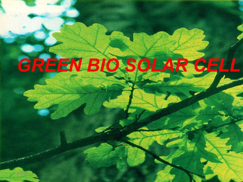 GREEN BIO SOLAR CELL 4/14/2017