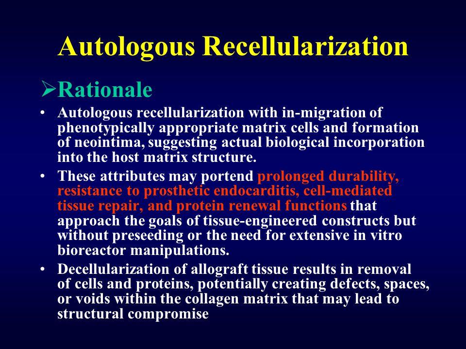 Autologous Recellularization