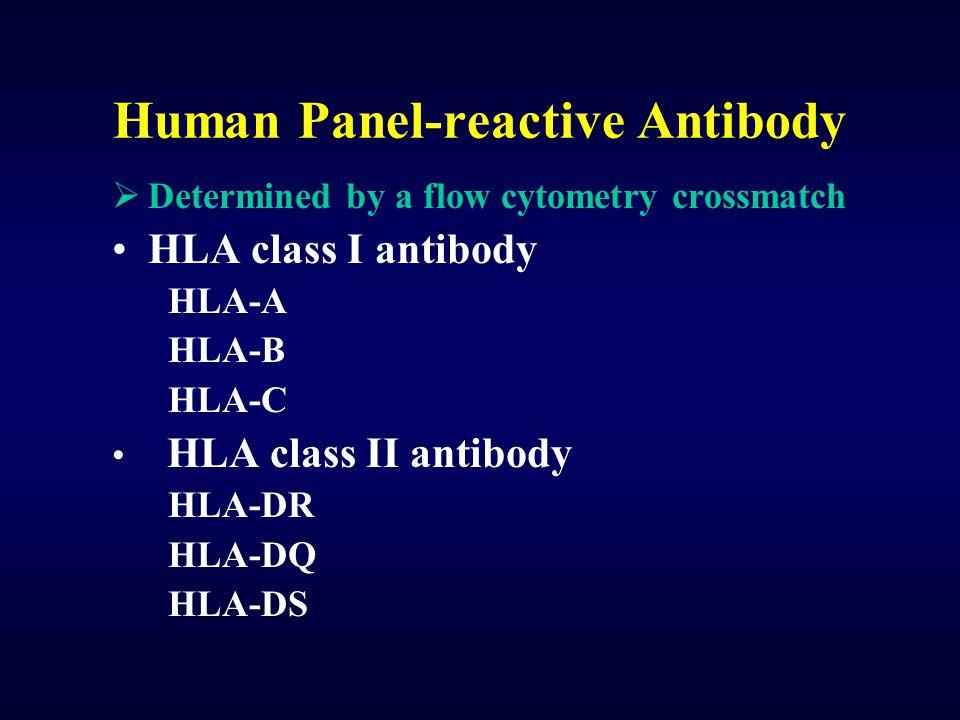 Human Panel-reactive Antibody