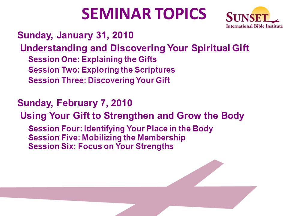 Spiritual gifts seminar ppt download spiritual gifts seminar 3 seminar negle Image collections