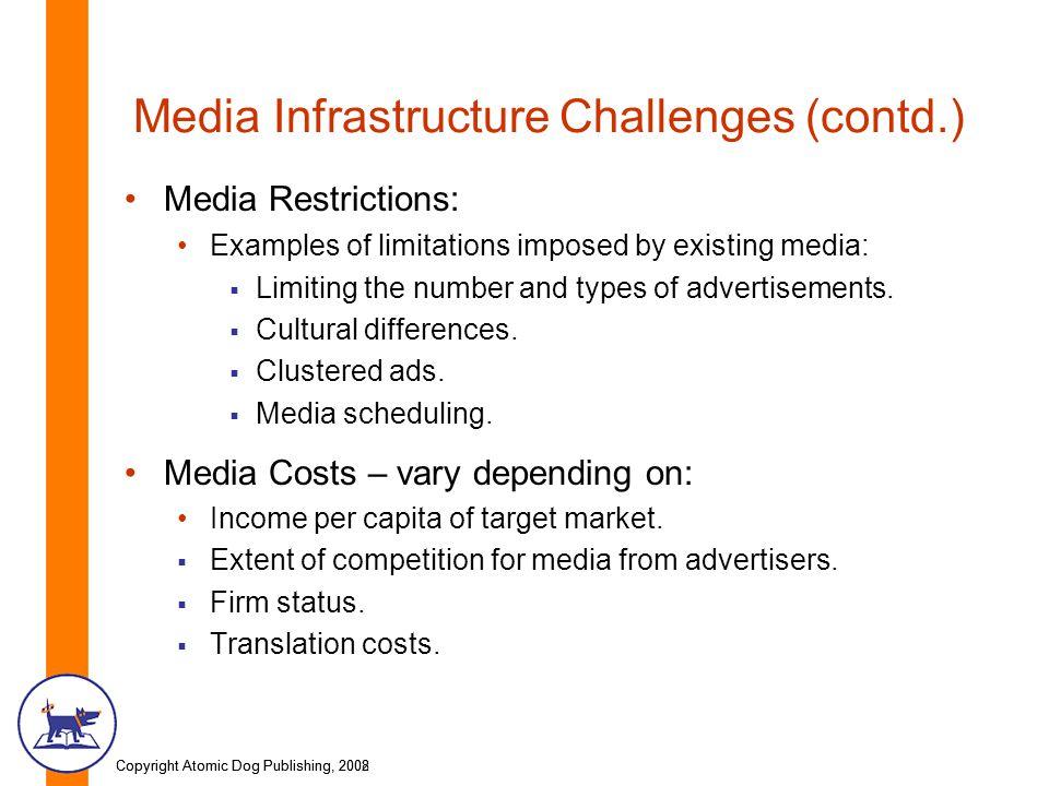 Media Infrastructure Challenges (contd.)
