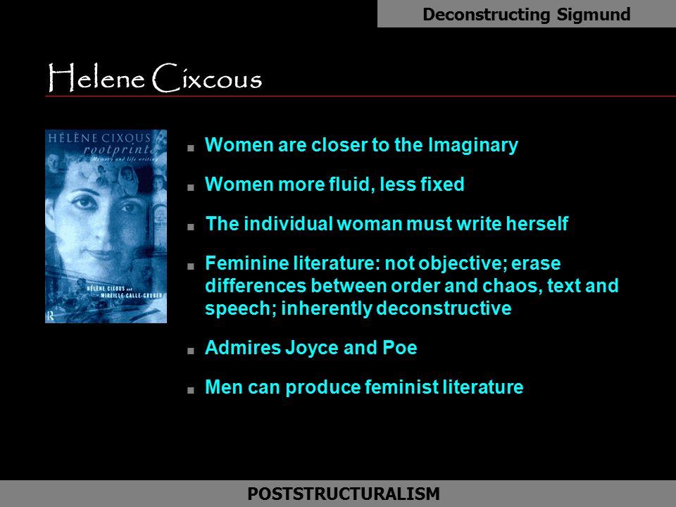 Deconstructing Sigmund