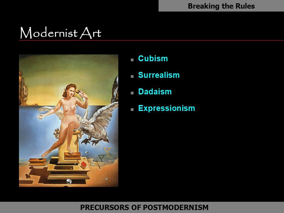 PRECURSORS OF POSTMODERNISM