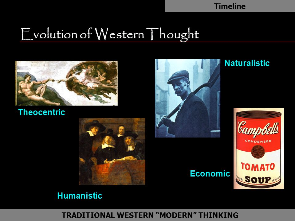 Evolution of Western Thought