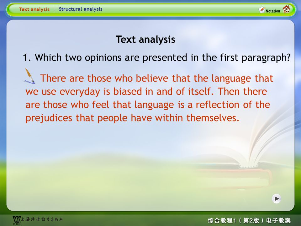 Global Reading-Text analysis1