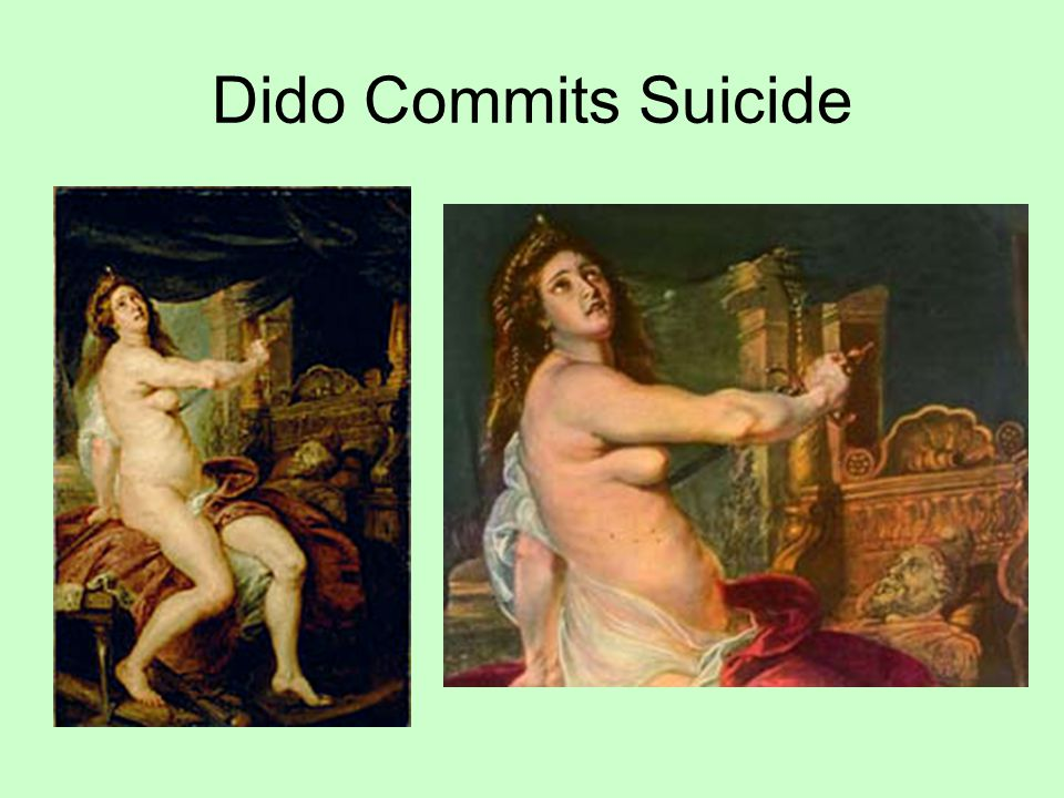 Dido Commits Suicide