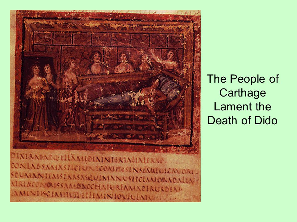 The People of Carthage Lament the Death of Dido
