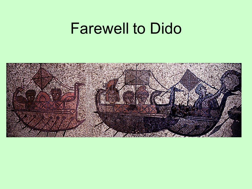 Farewell to Dido