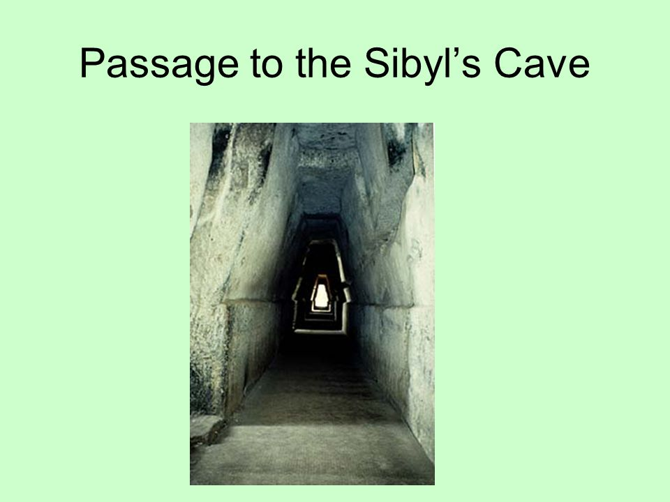 Passage to the Sibyl's Cave