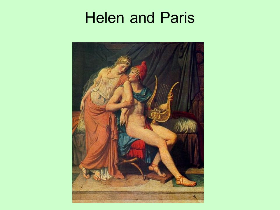 Helen and Paris
