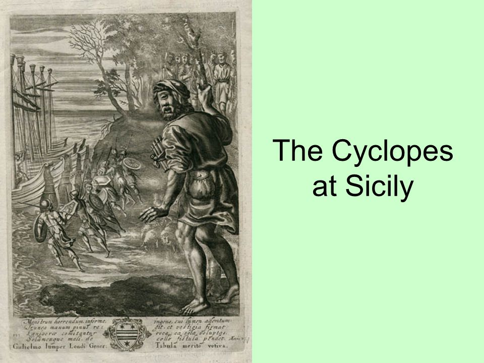 The Cyclopes at Sicily