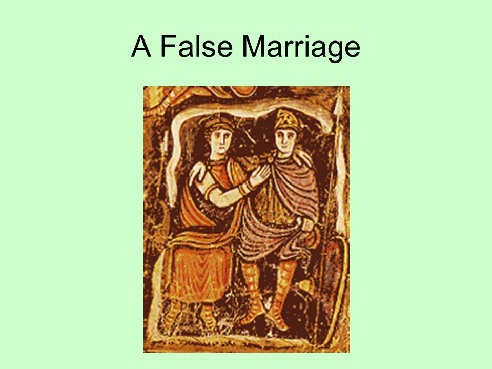 A False Marriage