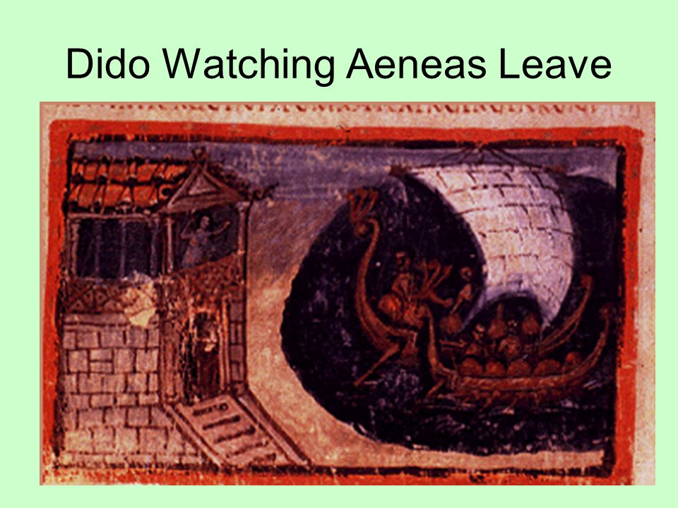 Dido Watching Aeneas Leave