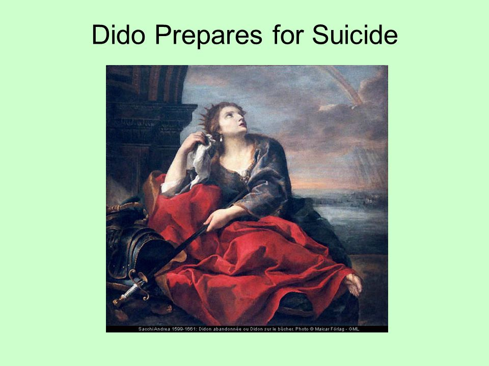 Dido Prepares for Suicide