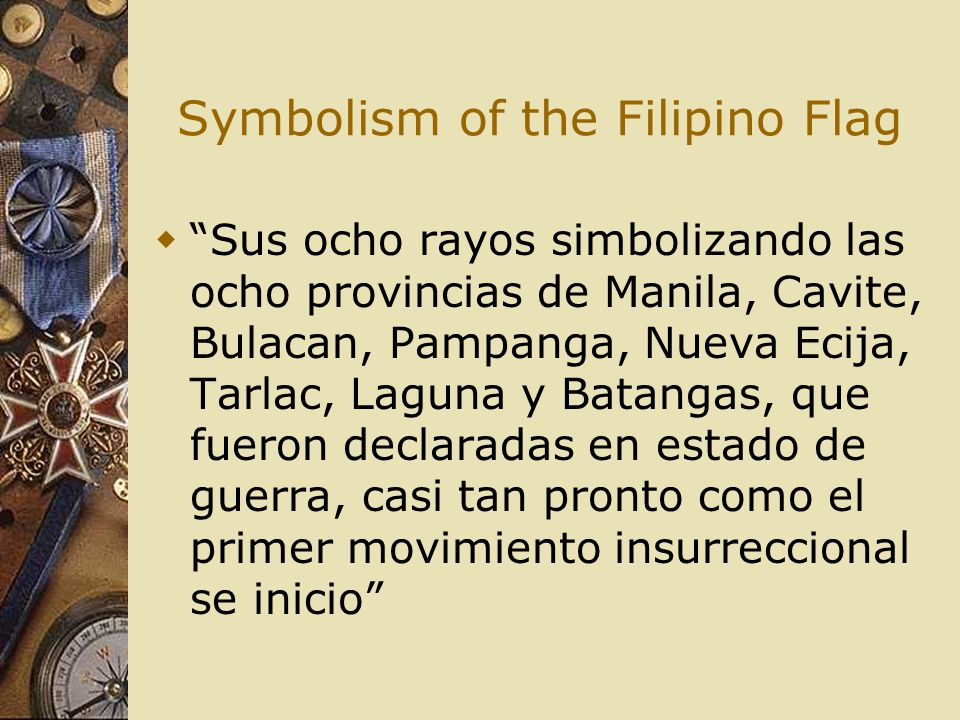 Symbolism of the Filipino Flag