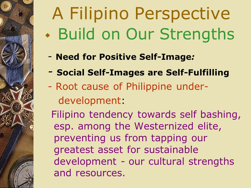A Filipino Perspective