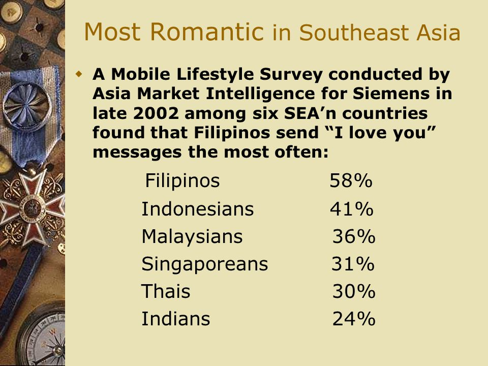Most Romantic in Southeast Asia