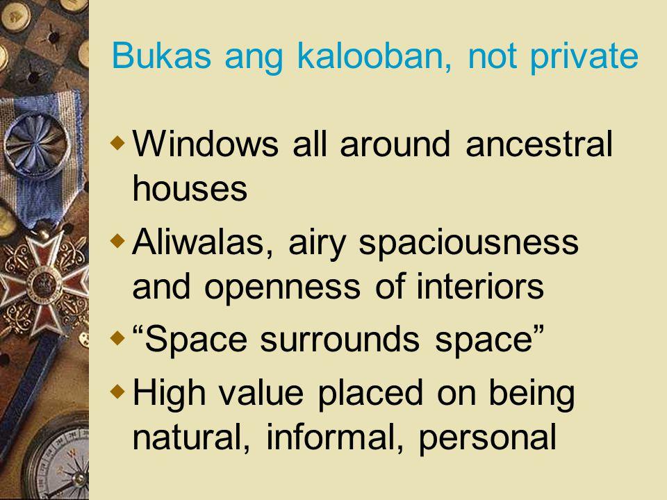 Bukas ang kalooban, not private