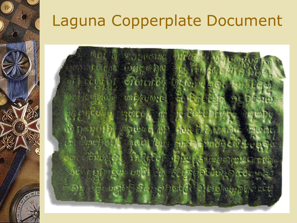 Laguna Copperplate Document