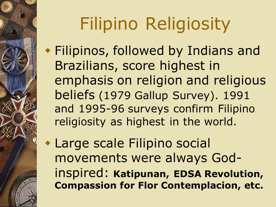 Filipino Religiosity