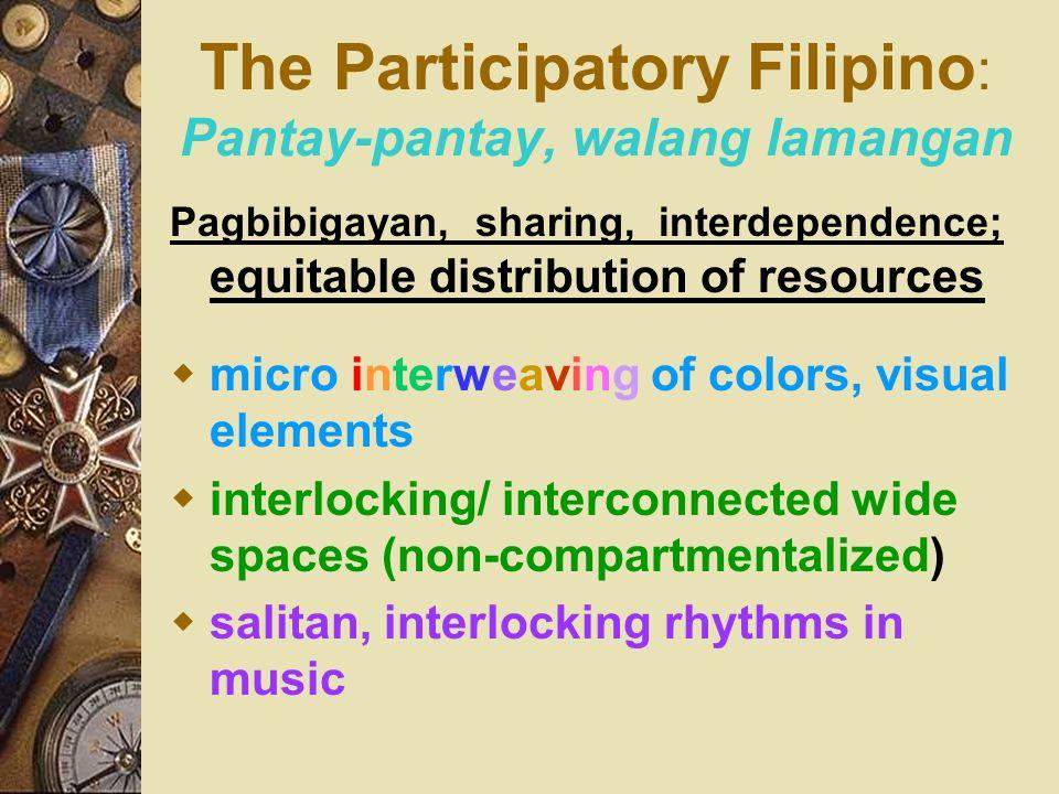 The Participatory Filipino: Pantay-pantay, walang lamangan