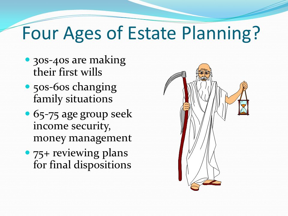 Four Ages of Estate Planning