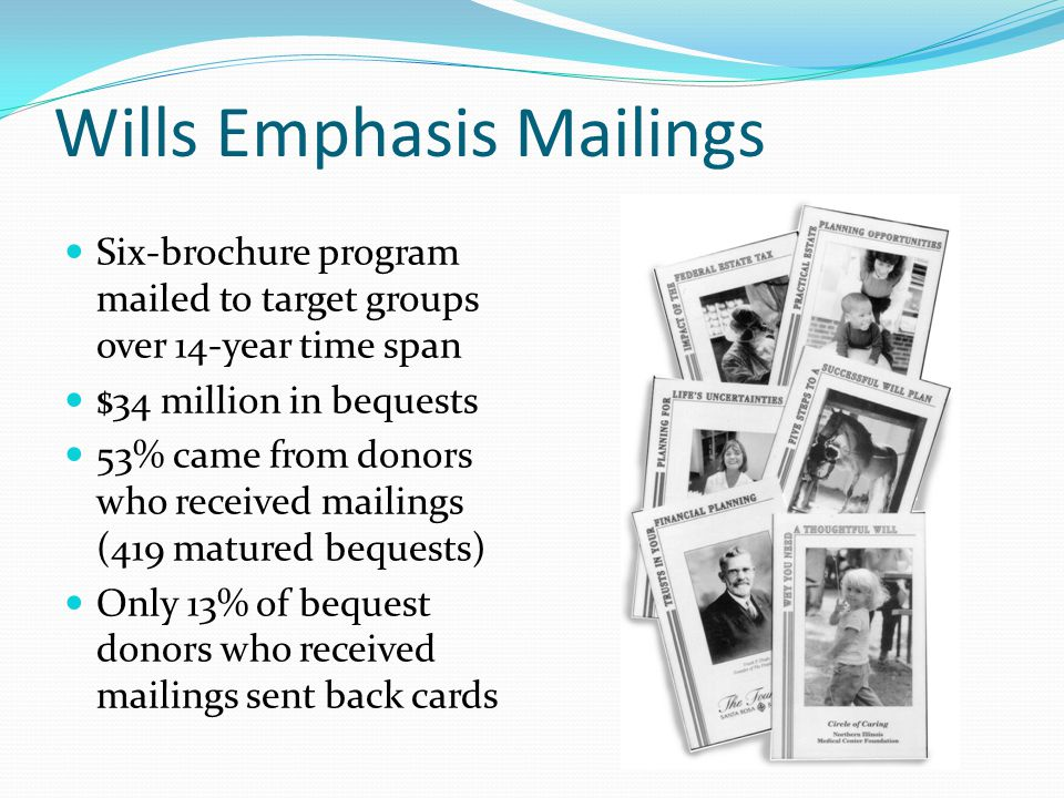Wills Emphasis Mailings