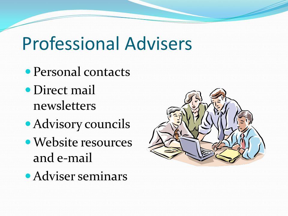 Professional Advisers