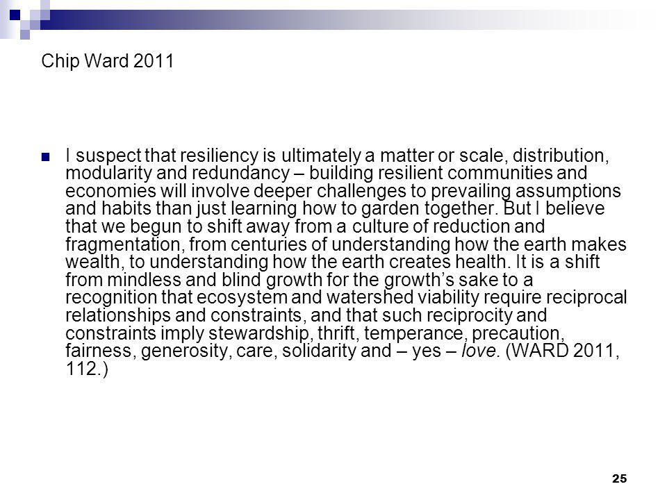 Chip Ward 2011
