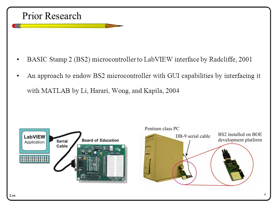 Hardware Components–PIC
