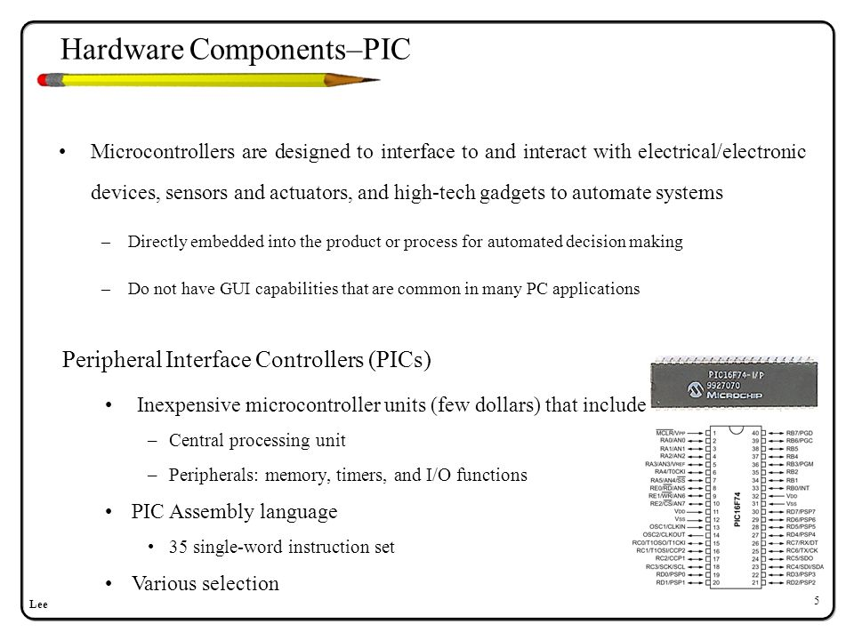 Hardware Components–BS2