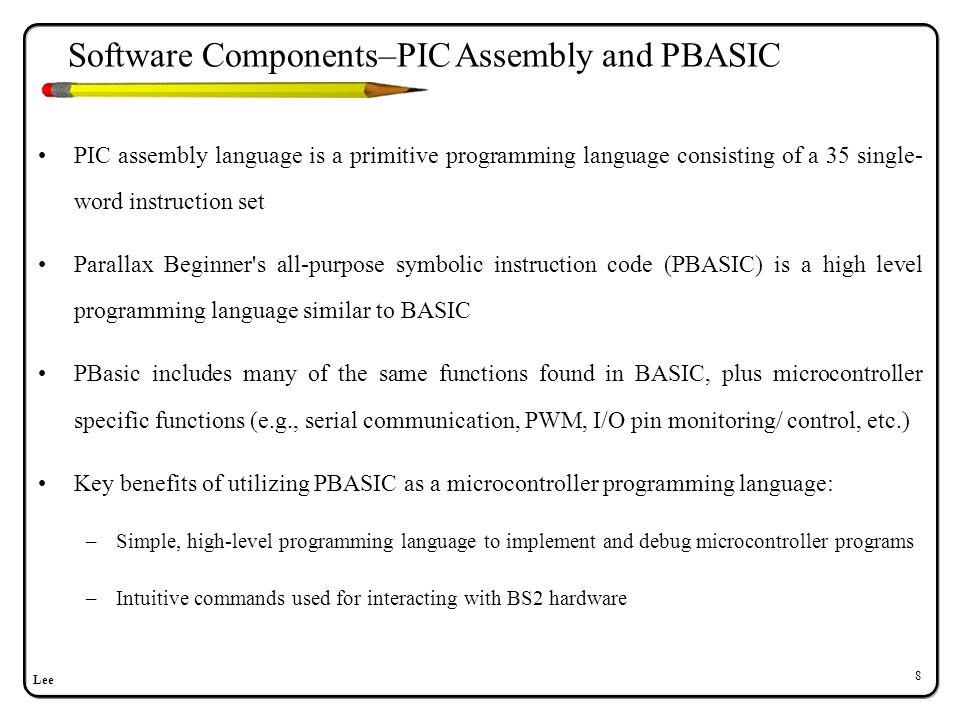 Software Components–MATLAB