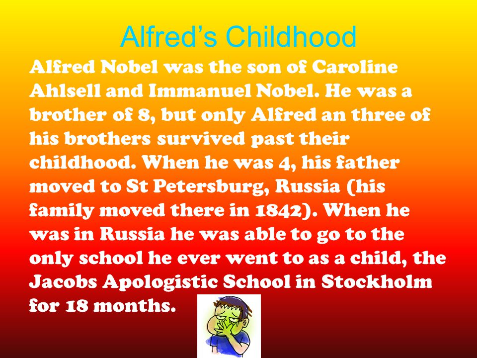 Alfred's Childhood