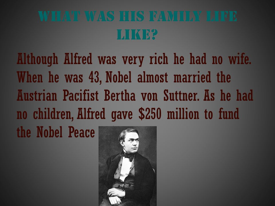 What was his family life like