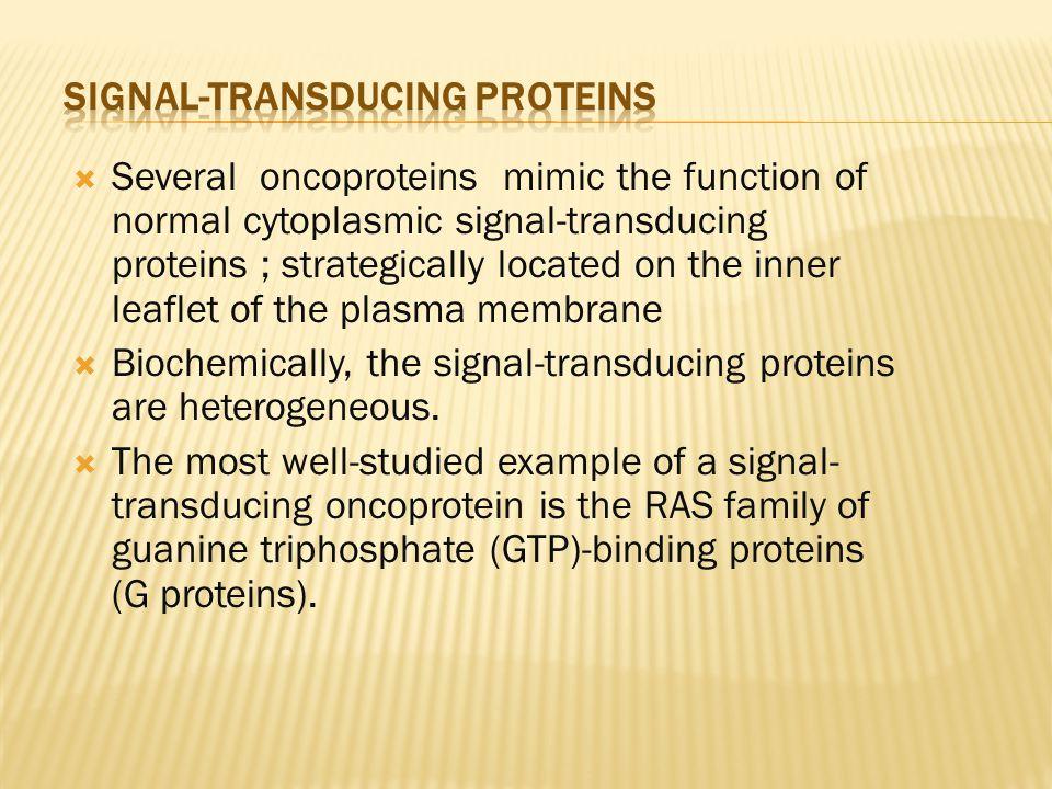 Signal-Transducing Proteins