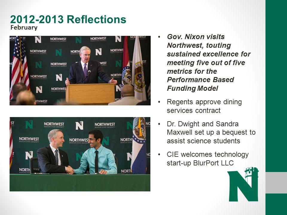 2012-2013 Reflections February