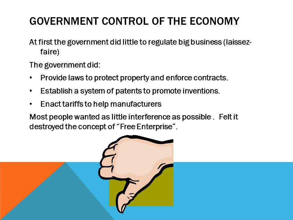 Government Control of the Economy