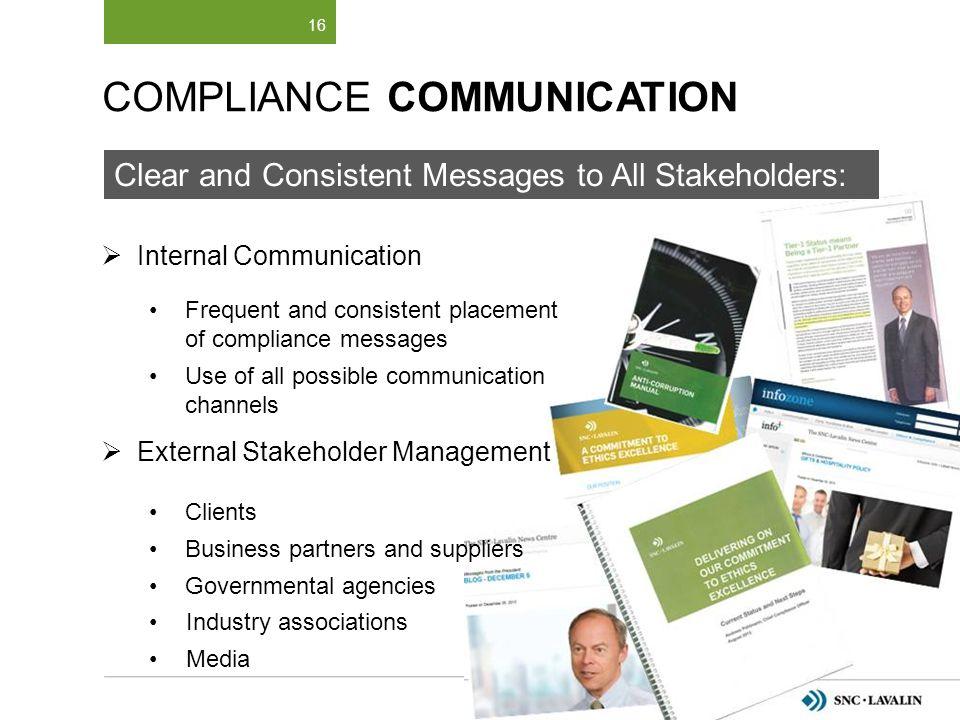 Compliance Communication