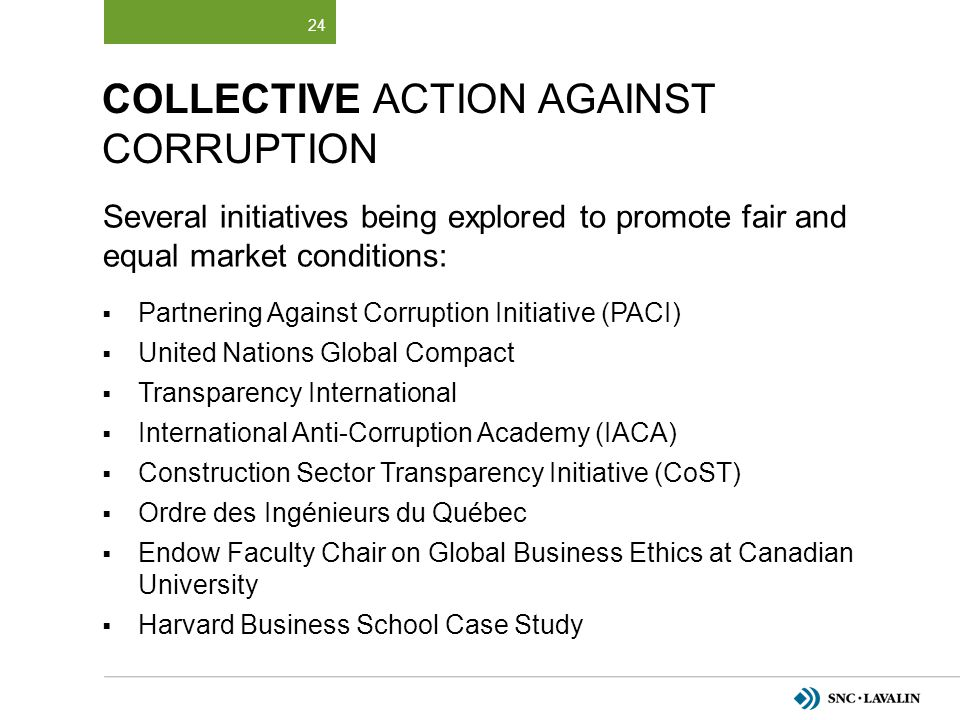 Collective Action Against Corruption