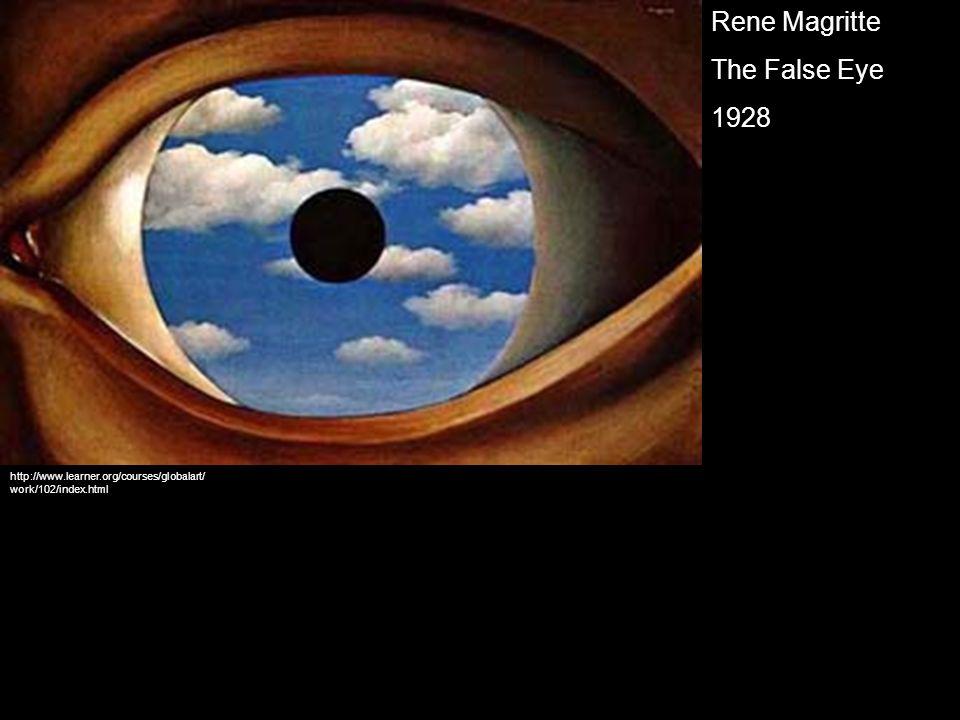 Rene Magritte The False Eye 1928