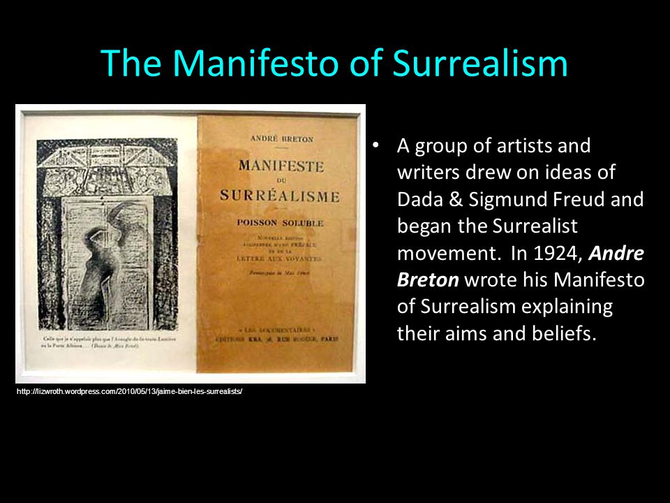 The Manifesto of Surrealism
