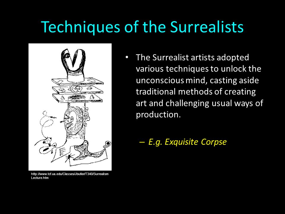 Techniques of the Surrealists