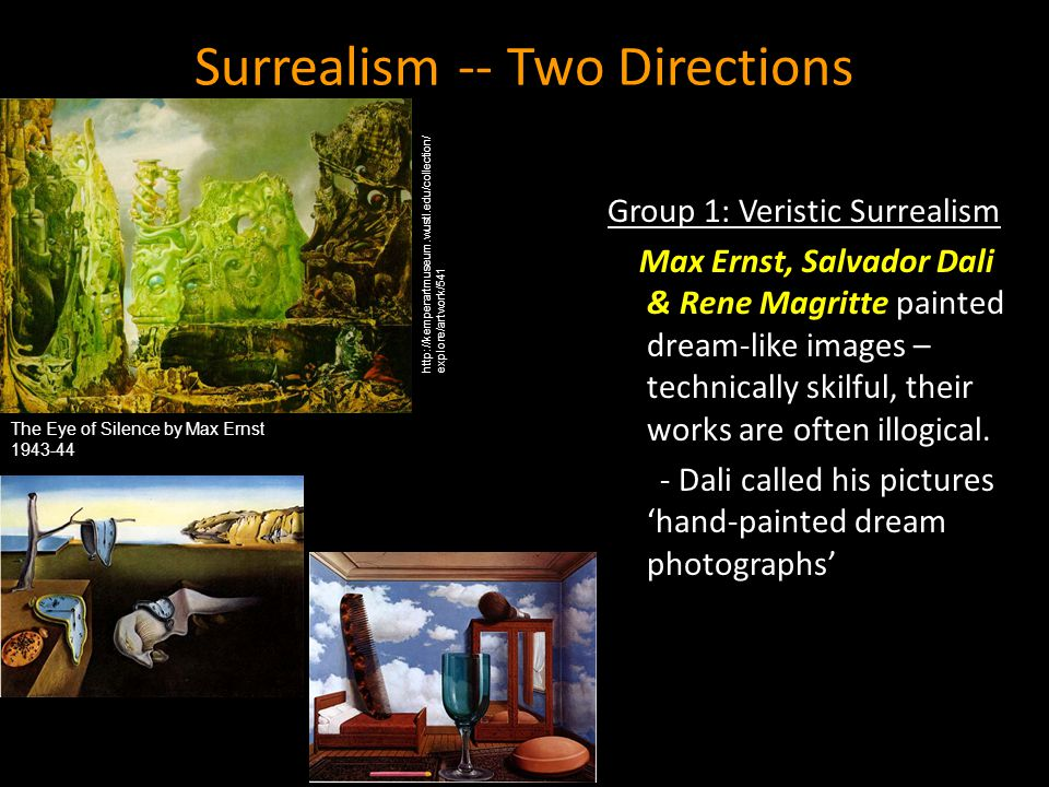 Surrealism -- Two Directions
