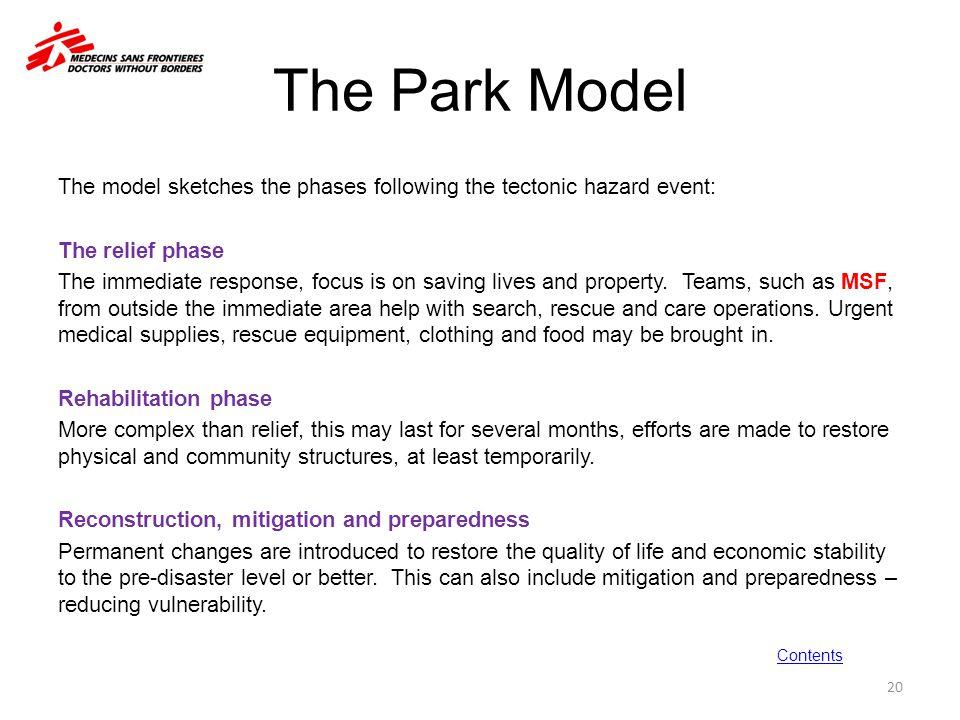 The Park Model