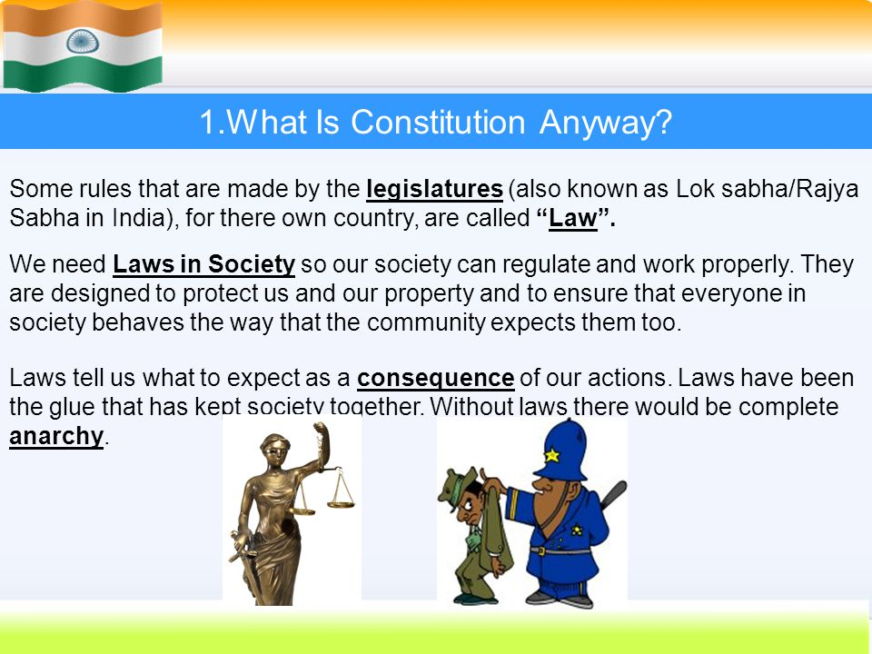 1.What Is Constitution Anyway