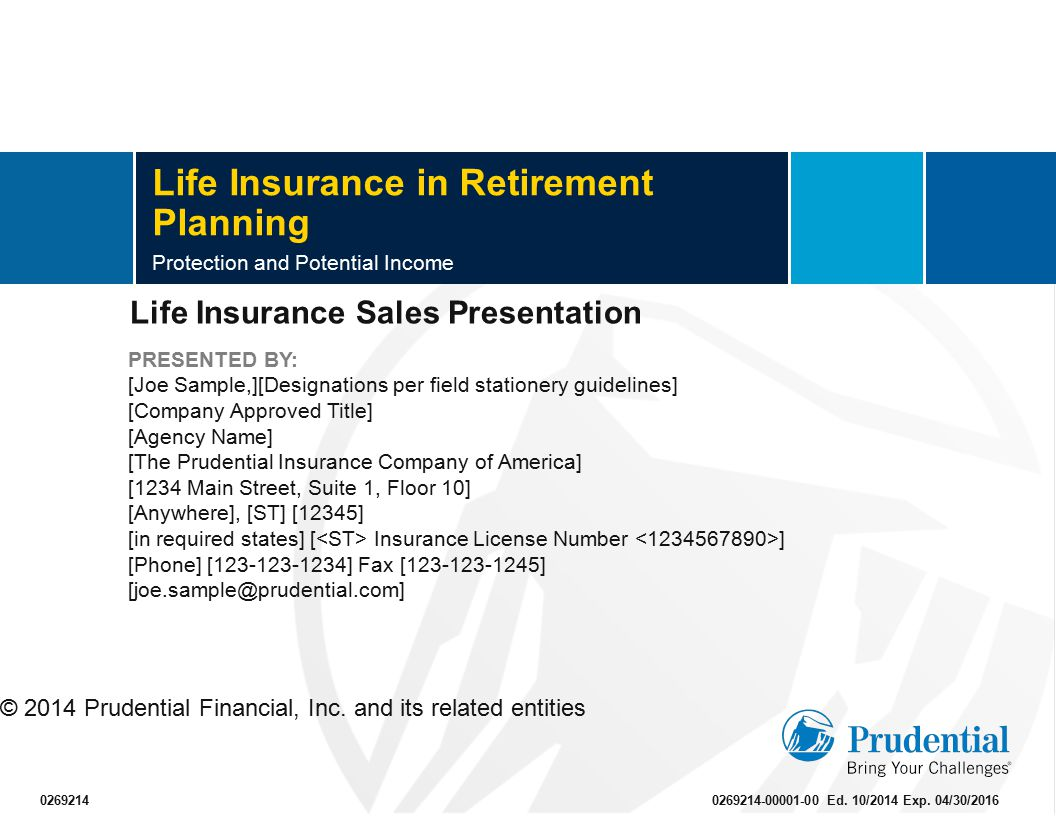 Life Insurance in Retirement Planning